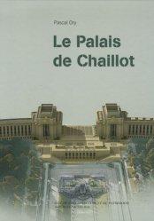 Dernières parutions dans Architectures, Le Palais de Chaillot