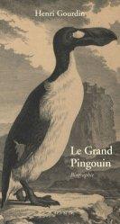 Dernières parutions sur Palmipèdes, Le Grand Pingouin