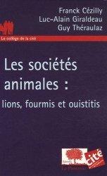 Souvent acheté avec Dictionnaire étymologique de zoologie Comprendre facilement tous les noms scientifiques, le Les sociétés animales : lions, fourmis et ouistitis