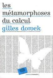 Dernières parutions dans Essais, Les metamorphoses du calcul