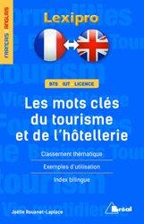 Dernières parutions dans LEXIPRO, Lexique anglais - les mots-clés du tourisme et de l'hôtellerie