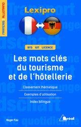 Dernières parutions dans LEXIPRO, Les mots-clés du tourisme et de l'hôtellerie - allemand