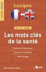 Dernières parutions sur Dictionnaires, Les mots clés de la santé