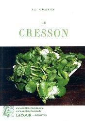 Dernières parutions dans Rediviva, Le Cresson
