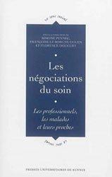 Dernières parutions dans Le Sens social, Les négociations du soin