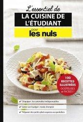 Dernières parutions dans Pour les Nuls, Les essentiels de la cuisine de l'étudiant pour les nuls