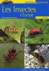 Dernières parutions dans Mémo Gisserot, Les insectes d'Europe