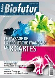 Dernières parutions dans Biofutur, Le paysage de la recherche française en 8 cartes