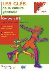 Souvent acheté avec Annales corrigées concours d'entrée IFSI, le Les clés de la culture générale