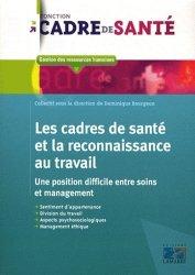 Dernières parutions dans Fonction cadre de santé, Les cadres de santé et la reconnaissance au travail