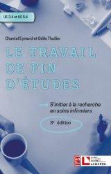 Dernières parutions sur Diplôme d'Etat, Le travail de fin d'études, ue 3.4-ue 5.6