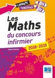 Souvent acheté avec Concours infirmier pour candidats AS-AP 2019, le Les maths du concours infirmier 2018-2019