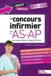 Dernières parutions dans Lamarre concours, Le concours infirmier pour les AS-AP