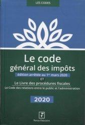 Dernières parutions sur Droit fiscal, Le code général des impôts et le livre des procédures fiscales