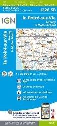 Dernières parutions sur Pays de Loire, Le Poiré-sur-Vie, Aizenay, Les Achards. 1/25 000