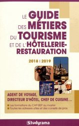 Le Guide des métiers du tourisme et de l'hôtellerie-restauration