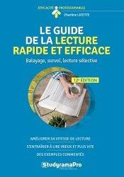 Nouvelle édition Le guide de la lecture rapide et efficace