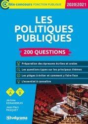 Dernières parutions dans Concours fonction publique, Les politiques publiques