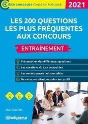Dernières parutions sur Concours administratifs, Les 200 questions les plus fréquentes aux concours