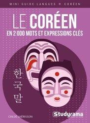 La couverture et les autres extraits de Le coréen en 2000 mots et expressions clés