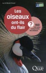 Dernières parutions dans Clés pour comprendre, Les oiseaux ont-ils du flair ?
