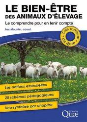 Dernières parutions sur Sciences de la Vie, Le bien-être des animaux d'élevage