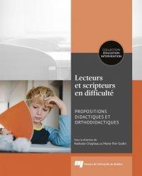Dernières parutions sur Questions d'éducation, Lecteurs et scripteurs en difficulté