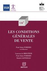 Dernières parutions dans Université libre de Bruxelles, Les conditions générales de vente