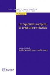 Dernières parutions dans Droit de l'Union européenne, Les organismes européens de coopération territoriale