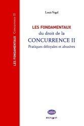 Dernières parutions sur Concurrence et consommation, Les fondamentaux du droit de la concurrence