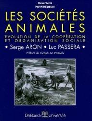 Souvent acheté avec Évolution et modification du comportement L'inné et l'acquis, le Les sociétés animales