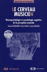 Souvent acheté avec Alzheimer Thérapie comportementale et art-thérapie en institution, le Le cerveau musicien