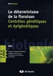 Dernières parutions dans LMD, Le déterminisme de la floraison