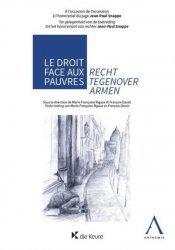 Dernières parutions sur Autres ouvrages de philosophie du droit, Le droit face aux pauvres. Textes en français et en allemand