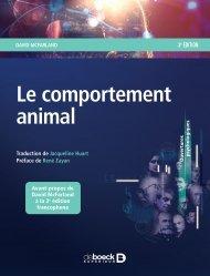 Dernières parutions sur Ethologie, Le comportement animal