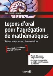 Dernières parutions sur Géométrie, Leçon d'oral pour l'agrégation de mathématiques