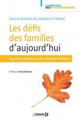 Dernières parutions sur Essais, Les défis des familles d'aujourd'hui