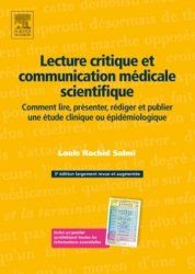 Souvent acheté avec Épidémiologie, le Lecture critique et communication médicale scientifique