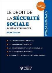 Dernières parutions sur Sécurité sociale, Le droit de la sécurité sociale. Système et finalités