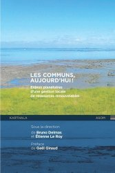 Dernières parutions dans Hommes et Sociétés, Les communs, aujourd'hui !