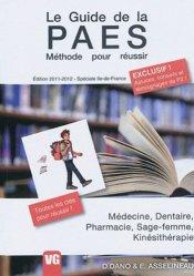 Souvent acheté avec L'anglais des spécialités médicales, le Le guide de la PAES