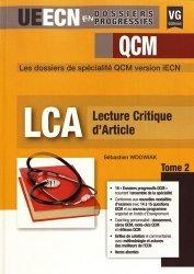 Dernières parutions sur Méthodologie - LCA, Lecture critique d'article