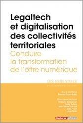 Dernières parutions sur Collectivités locales, Legaltech et digitalisation des collectivités territoriales