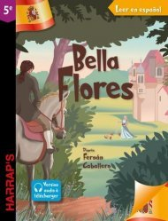 Dernières parutions dans Harrap's parascolaire, Leer en espanol : Bella Flor (niveau 5e)