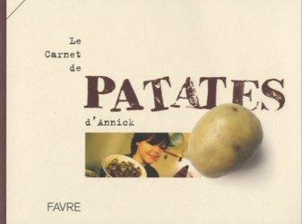 Dernières parutions sur Pommes de terre, Le carnet de patates d'Annick