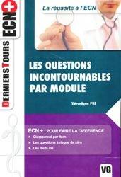 Dernières parutions dans Derniers Tours ECN+, Les questions incontournables par module