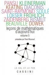 Souvent acheté avec L'oral à l'agrégation de mathématiques, le Leçons de mathématiques d'aujourd'hui