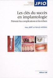 Dernières parutions dans JPIO, Les clés du succès en implantologie