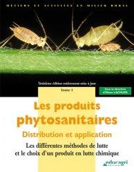 Dernières parutions dans Métiers et activités en milieu rural, Les produits phytosanitaires Tome 1