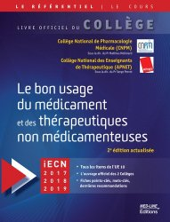 Souvent acheté avec Annales de LCA en français-anglais pour le concours ECNi, le Le bon usage du médicament et des thérapeutiques non médicamenteuses